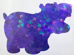 Color Shift Shape Glitter! - Dark Stars