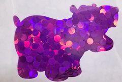 Holographic Shape Glitter! - Purple Dots