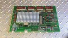 Octane Q45 Elliptical Upper Circuit Board for Black Console Used Ref. # JG3109