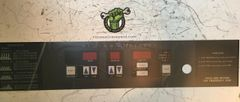 VISION T8600HRC Console Display Overlay- NEW - OEM# 002803-00 REF# WFR1018184SM