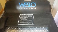 Weslo 805 Treadmill Motor Cover Used Ref. # JG3152