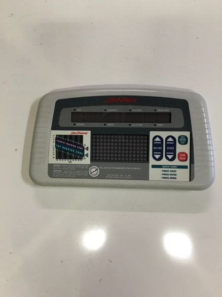 Life Fitness TR5500HR Treadmill Console- Ref# 10346- Used