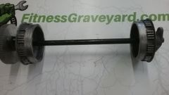Woodway Front Drive Axle - Used - REF# STL-2359