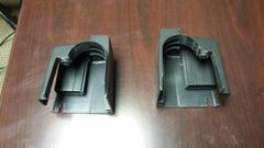 LifeSpan TR1000 Treadmill Plastic End Caps Used Ref. # JG2701