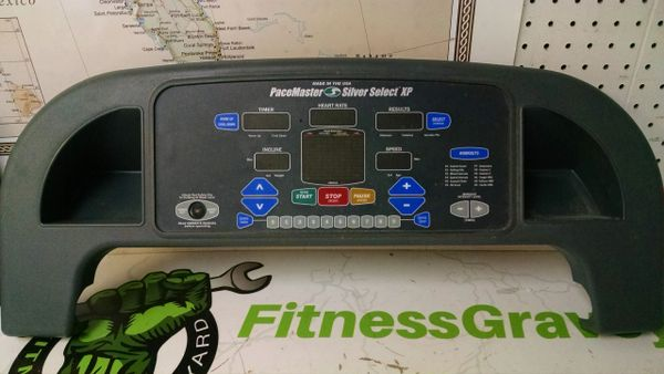 Pacemaster Silver Select xp Treadmill console Ref# 10362-Used