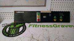 Landice L8 Treadmill console/Circuit Board s/n# L8-03172 Used ref. # jg4497
