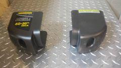 Livestrong 10.0 Treadmill Plastic End Caps Used Ref. # JG3306