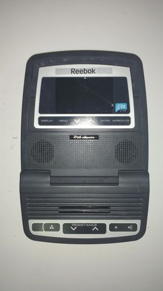 Reebok 5.10 Elliptical Console Ref# 10424- Used