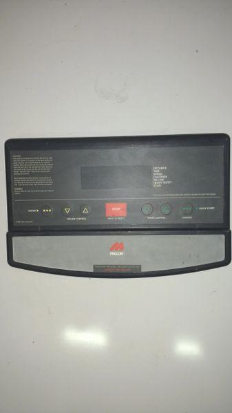 Precor 9.4x Treadmill Console Ref# 10466- Used
