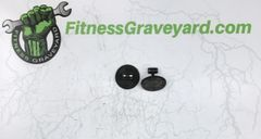 Life Fitness 95T Treadmill Foot Leveler - Used - Pair - OKC-2246