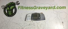 Cybex Arc Trainer 610A Top Display Overlay - New - REF# JHT618181SH