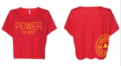 UL - Power or Nah? - Crop Tee