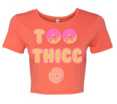 UL - Too Thicc - Ladies Crop Tee