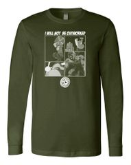 UL - I Will NOT Be Outworked - Unisex Long Sleeve Tee
