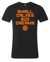 UL - small calves BIG DREAMS - ORANGE