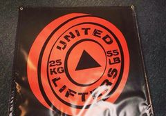 United Lifters Gym Banner