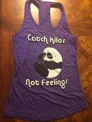 UL - Catch Kilos Not Feelings - Racerback Tank