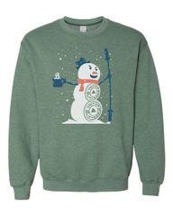 UL - Christmas Snowman - Unisex Sweatshirt