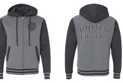 UL - Unisex Varsity Jacket -Gun Metal Heather