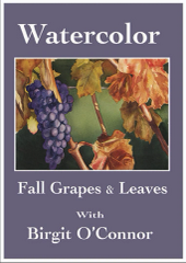 DVD Fall Grapes & Leaves