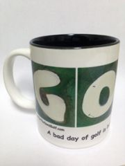GOLF A Bad Day of Golf is Better Than a Good Day at Work Mug