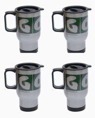 4 Pack GOLF Stainless Steel Travel Mugs