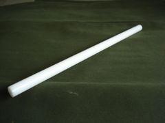 "(PDR/.500-12) White Acetal 1/2"" diameter x 12"""