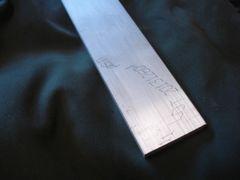"""(AF61/.375X3.00-12) Aluminum 6061-T6511 3/8"""" x 3"""" x 12"""""""