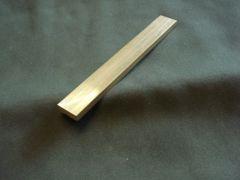 """(BF360/.188X.750-06) Brass 360 3/16"""" x 3/4"""" x 6"""""""