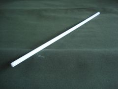"(PDR/.250-06) White Acetal 1/4"" diameter x 6"""