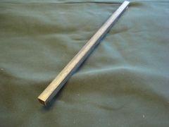 """(BSQ360/.438-12) Brass 360 7/16"""" x 7/16"""" x 12"""""""