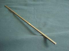 """(BSQ360/.125-12) Brass flat 360 1/8"""" x 1/8"""" x 12"""""""