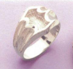 Sterling Silver Men's Blank Ring Shank Size 8-14