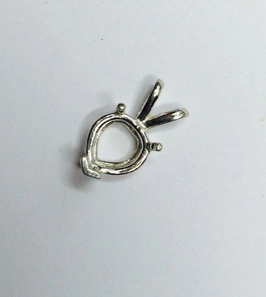 Heart 3-Prong Cast Wire Pendant Setting   Gems and Settings Below ...