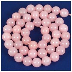 "16"" Strand of AAA Rated Genuine (Natural) Rose Quartz Beads (3mm-10mm)"