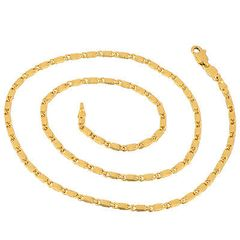 "17.9"" 18kt Yellow Gold Filled Link Chain"