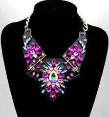 Large Chunky Chrystal Necklace
