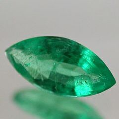 Masterpiece Collection: (1) Marquise Faceted Genuine (Natural) Emerald (4x2mm to 6x3mm)