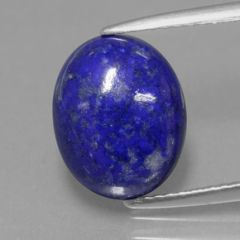 OVAL CABOCHON BLUE GENUINE LAPIS LAZULI (6x4mm - 18x13mm)