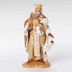 5 Inch Scale Fontanini Standing King Melchior Figurine 72188