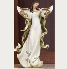 11.25 Inch Josephs Studio Garden Vine Angel Figurine 35103