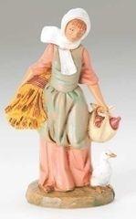 5 Inch Scale Fontanini Hannah Farmers Wife Figurine 52567