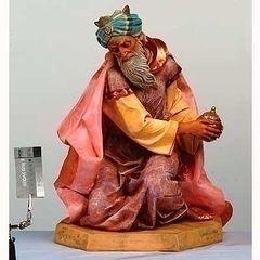 27 Inch Fontanini Kneeling King Gaspar Figurine 53115