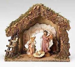 7.5 Inch Fontanini Starter Nativity Set 54850