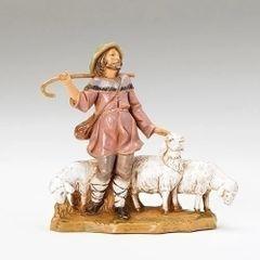 5 INCH FONTANINI ELIJAH SHEPHERD HERDER 54097