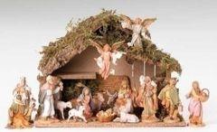 5 Inch Scale Fontanini Italian 16 Pc Nativity Scene 54492