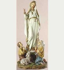 12 Inch High Josephs Studio Our Lady of Fatima Figurine 40722