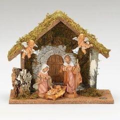 5 inch Scale Fontanini 5 Pc Wedding Nativity Scene 54790