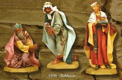 27 Inch Fontanini 3 pc Three Kings Figurines 53114set
