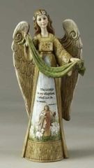 12.5 Inch High Josephs Studio Memorial Angel Figurine 47135